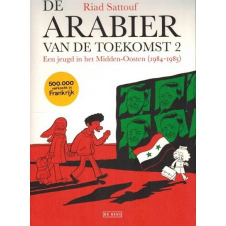 Sattouf strips De arabier van de toekomst 02 Een jeugd in het Midden-Oosten (1984-1985)