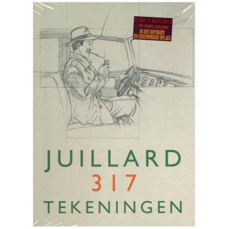 Blake & Mortimer  Luxe HC Juillard 317 tekeningen