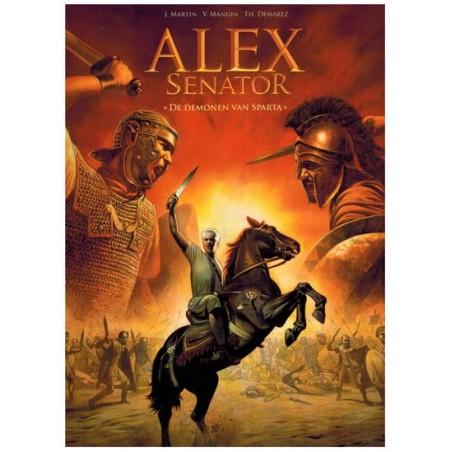 Alex  Senator 04 De demonen van Sparta