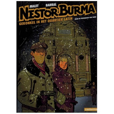 Nestor Burma  10 HC Gekonkel in het Quartier Latin