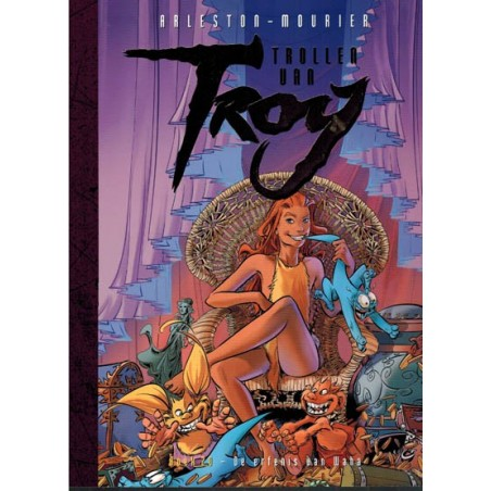 Lanfeust  Trollen van Troy 20 De erfenis van Waha