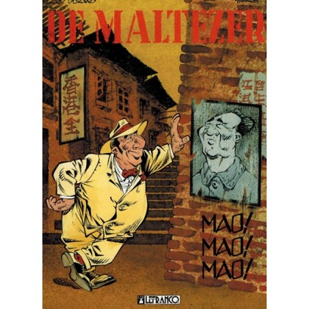 Maltezer 03 Mao! Mao! Mao!1e druk 1994 (Collectie Avonturenstrips 22)
