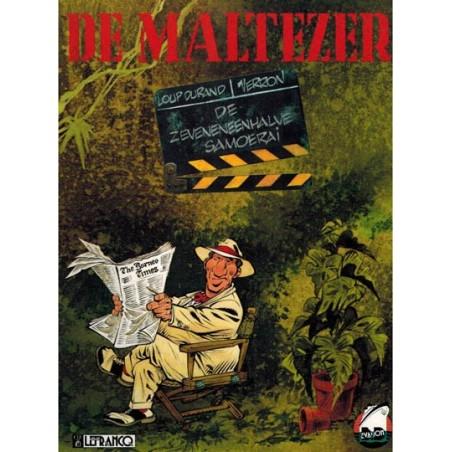 Maltezer 02 De zeveneneenhalve samoerai 1e druk 1993 (Collectie Avonturenstrips 15)