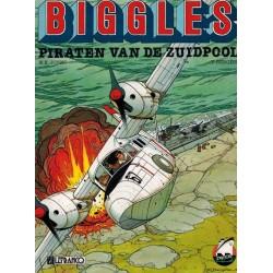 Biggles 02 De piraten van de Zuidpool 1e druk 1991 (Collectie Avonturenstrips 7)