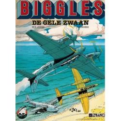 Biggles 01 De gele zwaan 1e druk 1990 (Collectie Avonturenstrips 2)