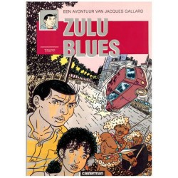 Jacques Gallard 02 Zulu blues 1e druk 1987