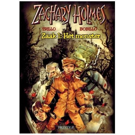 Zachary Holmes 01 Het monster 1e druk 2001
