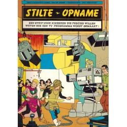 Stilte, opname 1e druk 1983 Een strip voor kinderen die precies willen weten hoe een TV-programma wordt gemaakt!