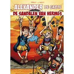 Alexander de grote 02 De sandalen van Hermes