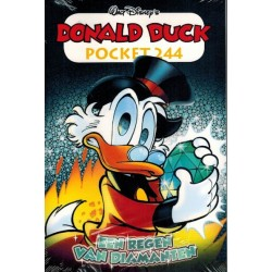 Donald Duck  pocket 244 Een regen van diamanten