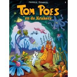 Tom Poes  balloonstrip C01 De Krakers