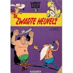 Lucky Luke I De Zwarte Heuvels herdruk 1967