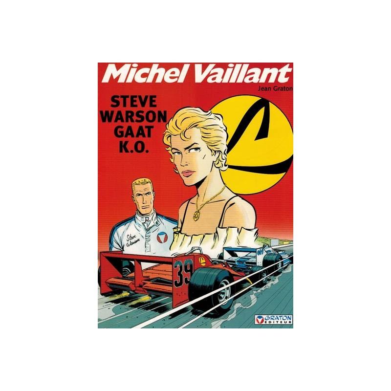 Michel Vaillant  34 Steve Warson gaat K.O.