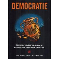 Papadatos strips Democratie Een kleurrijke ode aan het ontstaan van ons politiek systeem