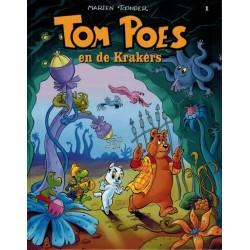 Tom Poes  balloonstrip HC C01 De Krakers