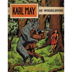 Karl May 16 De woudlopers 1e druk 1967