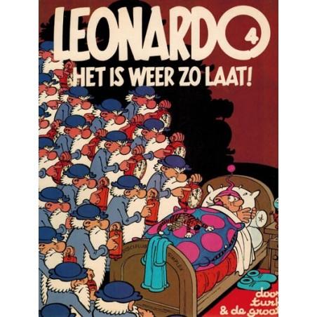 Leonardo 04% Het is weer zo laat! 1e druk 1981