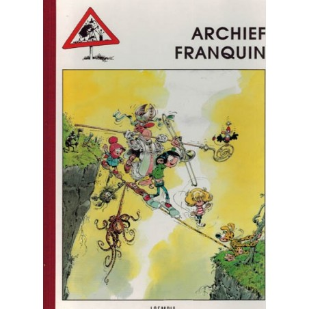 Franquin Luxe HC Archief Franquin 1e druk 1991
