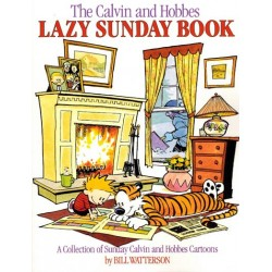 Calvin and Hobbes Lazy Sunday book A collection of Sunday cartoons