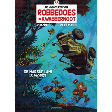 Robbedoes  55 De Marsupilami is woest