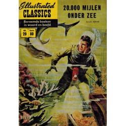 Illustrated Classics 20 20.000 Mijlen onder zee 1e druk 1956 (naar Jules Verne)