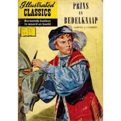 Illustrated Classics 18% Prins en bedelknaap reclame-uitgave 1957 (naar Samuel L. Clemens)