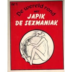 Wereld rond met Japik de sexmaniak 01 1e druk 1973