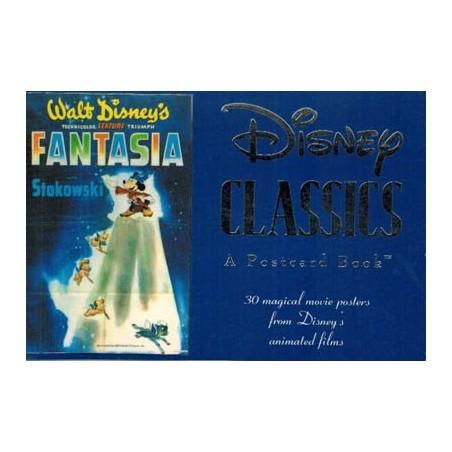 Disney Postcard book Disney Classics (30 postkaarten in boekje) 1991