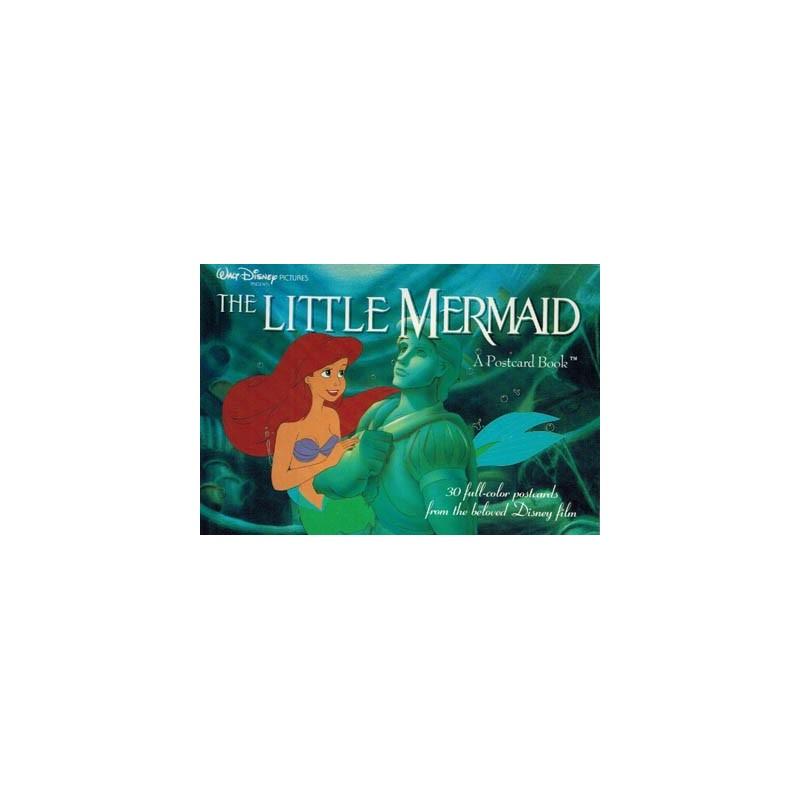 Disney Postcard book Little mermaid (30 postkaarten in boekje) 1991