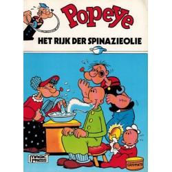 Popeye 23 Het rijk der spinazieolie 1e druk 1987