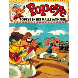 Popeye 02 Het malle monster 1e druk 1972