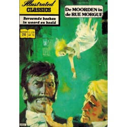 Illustrated Classics 210 De moorden in de Rue Morgue (Edgar Allan Poe) 1e druk 1975