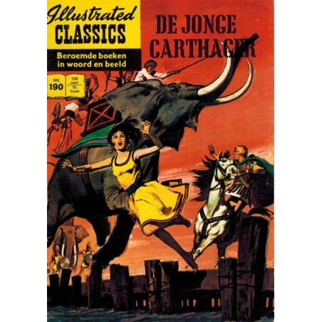 Illustrated Classics 190 De jonge Carthager 1e druk 1970