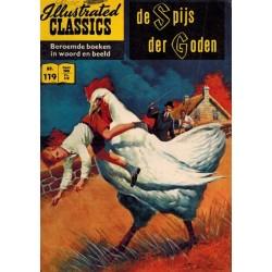 Illustrated Classics 119 De spijs der goden (naar H.G. Wells) 1e druk 1961