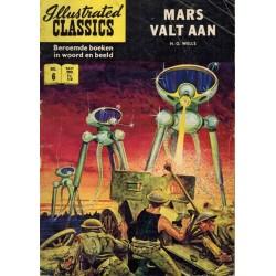 Illustrated Classics 006% Mars valt aan (naar H.G. Wells) herdruk