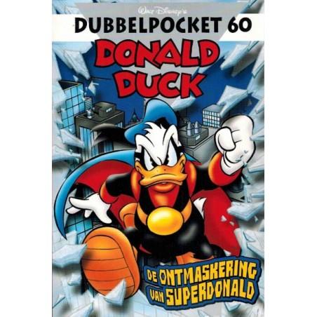 Donald Duck  Dubbel pocket 60 De ontmaskering van Superdonald