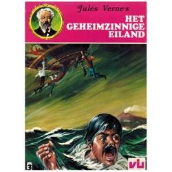 Jules Verne 03 Het geheimzinnige eiland 1e druk 1978