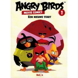 Angry birds Movie comics 01 Een nieuwe start