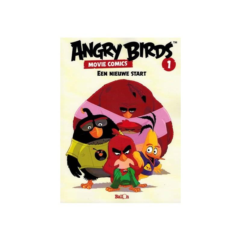 Angry birds Movie comics 01 Een nieuwe start