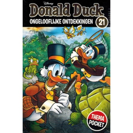 Donald Duck  Dubbel pocket Extra 21 Ongelooflijke ontdekkingen