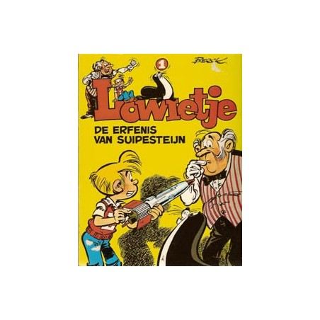 Lowietje set deel 1 t/m 7 1e drukken 1976-1982
