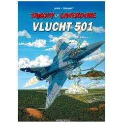 Tangy & Laverdure  28 Vlucht 501 (Tanguy)