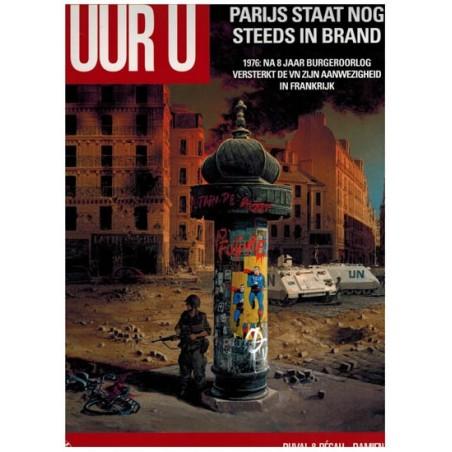 Uur U 08 HC Parijs staat nog steeds in brand 1976: 8 jaar na de burgeroorlog versterkt de VN...