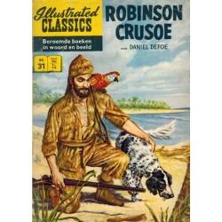 Illustrated classics 031 Robinson Crusoe (naar Daniel Defoe) herdruk