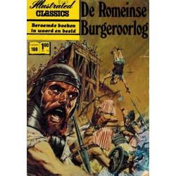 Illustrated Classics 198% De Romeinse burgeroorlog 1e druk 1972 (naar Julius Caesar)