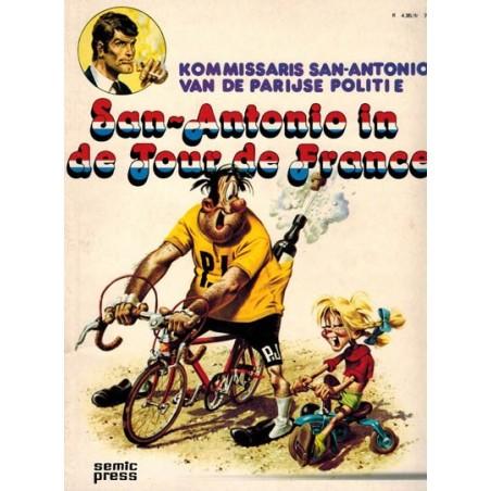 Kommissaris San-Antonio van de Parijse politie In de Tour de France 1e druk 1977