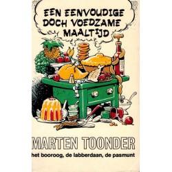 Bommel pocket 05 Een eenvoudige doch voedzame maaltijd 1e druk 1970 (Heer Bommel & Tom Poes)