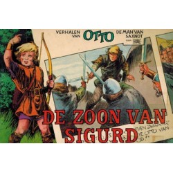 Otto de man van Saxnot pocket 02 De zoon van Sigurd 1e druk 1970