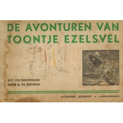 Rotman strips Toontje Ezelsvel 01% herdruk 1950