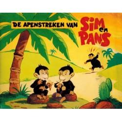 Sim en Pans 01 De apenstreken van Sim & Pans 1e druk 1970
